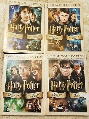 Harry Potter 8-Film DVD Collection - Years 1-7 (DVD, 8-Discs)