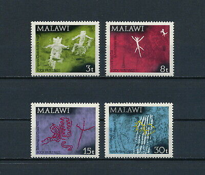 Malawi  186-9  MNH, Rock Paintings, 1972
