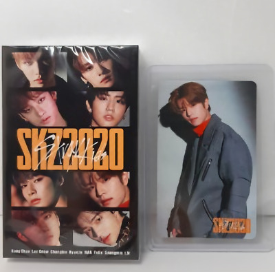 New Stray Kids Skz2020 Cassette Tape + Photocard 2 Set Limited Goods Straykids