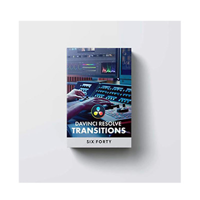 640studio Transitions Pack for DaVinci Resolve