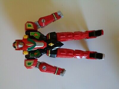 Mighty Morphin Power Rangers Red Dragon Thunderzord Megazord Incomplet