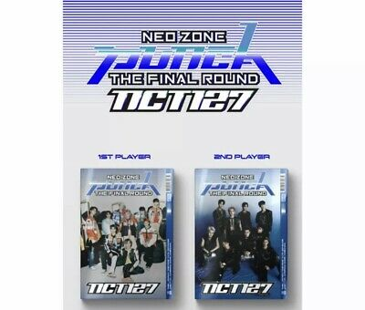 [ NCT127 ] - NCT #127  Neo Zone : The Final Round Album CD + etc (Repackage)