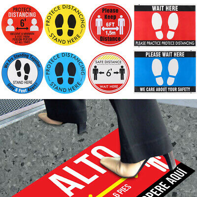 School Driving Social Distancing Vinyl Self Adhesive Keep Your Distance Sticker