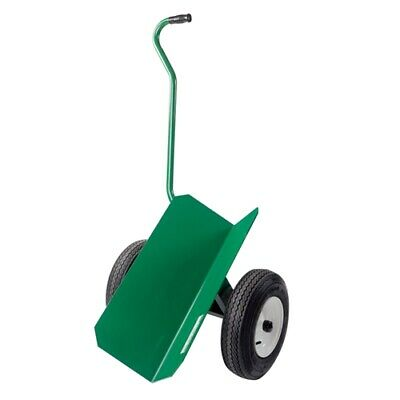 """Greenlee 36745 Green Heavy-Duty Steel Pipe Cart Assembly with 12"""" Wheels"""