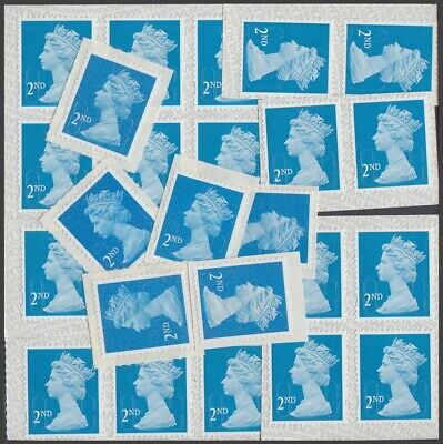 GB Stamps for Postage - 24 x 2nd class Self-adhesive Mint Stamps