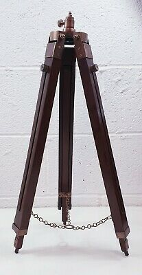 Wooden Tripod Industrial Adjustable reproduction photography