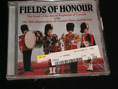FIELDS OF HONOUR<>CANADA PIPES<>Made in Canada ° Brand New CD ~MASTERSOUND 3706