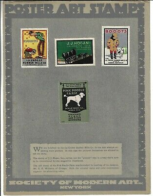 Poster Art Stamps