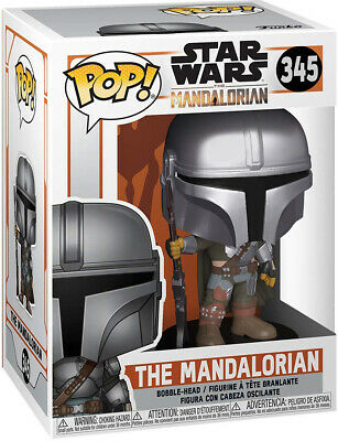 Pop Star Wars 3.75 Inch Action Figure The Mandalorian - The Mandalorian #345