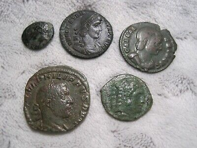 Group Lot of Unidentified Ancient Coins (H5)