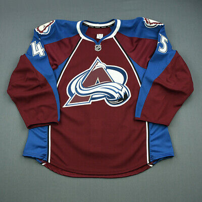 2013-14 Mikael Tam Colorado Avalanche Game Issued Reebok Hockey Jersey MeiGray