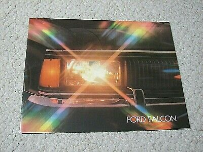 1980's ARGENTINE FORD FALCON SALES BROCHURE...