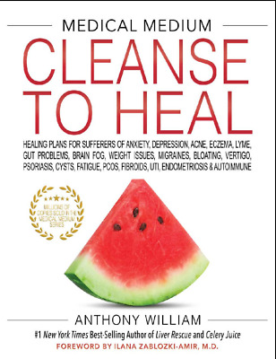 Medical Medium Cleanse to Heal - by Anthony William 2020 p.d.f (Email-Delivery)