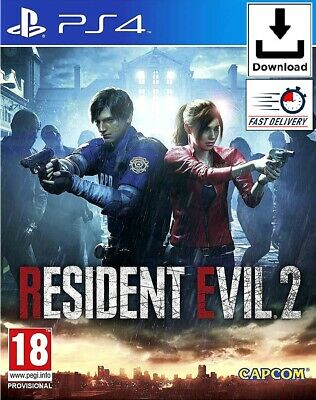 Resident Evil 2 Remake - PS4 📥