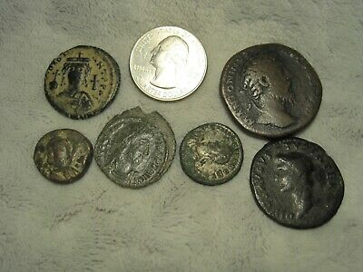 Group Lot of Unidentified Ancient Coins (H9)