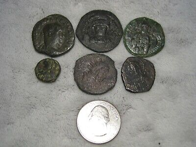 Group Lot of Unidentified Ancient Coins (H10)