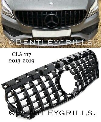 Mercedes CLA C117 Panamericana AMG GT Grille Black Grill