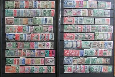 XL4851:  British Commonwealth (Aden to Gold Coast) Mint KGVI & Early QEII Stamps