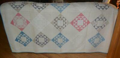 "Primitive Village Patchwork Quilt Runner`36/"" The Country House Collection *"