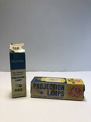 New Old Stock GE Projector Light Bulbs