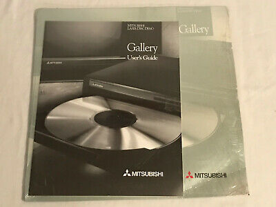 Mitsubishi Laser Disc Demo Gallery User's Guide With Book
