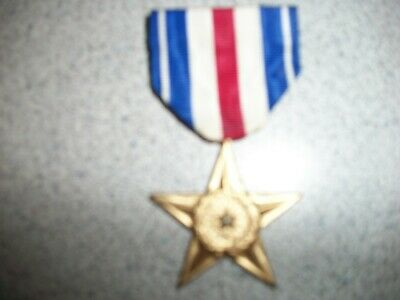 U.S. Military Silver Star- for Gallantry in Action