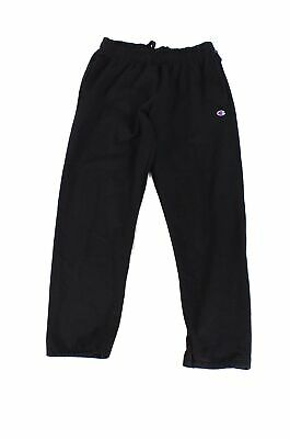 Champion Mens Pants Black Size Large L Powerblend Relaxed Stretch $50 048