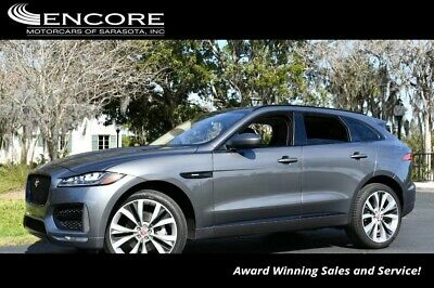 2017 Jaguar F-Pace 35t R-Sport AWD W/Technology, Comfort and Convenie 2017 F-PACE SUV 17,715 Miles With warranty-Trades,Financing & Shipping
