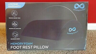 Memory foam foot rest