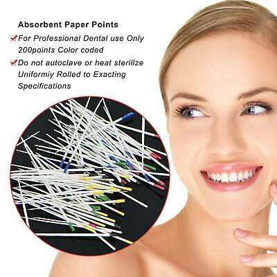 Assorted #15-40 Dental Absorbent Points / Paper Points