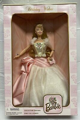 Birthday Wishes Barbie 1999 Collector Edition First In A Series Collectibles