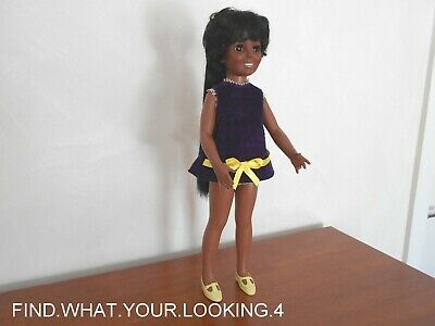 Vintage  Crissy Doll African American  Ideal 1969  Good Condition For Her Age