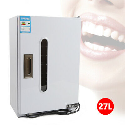 Dental Medical 27L UV Sterilizer Disinfection Cabinet+10 X Sterilization Trays