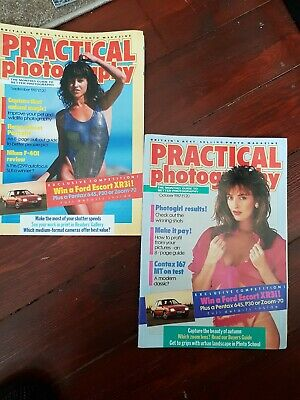 2 Vintage 87 Practical Photography Monthly Magazines Very good Condition