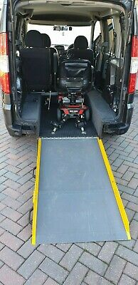 2010 fiat doblo mobility car with mobility scooter. Low miles. vgc. serviced.