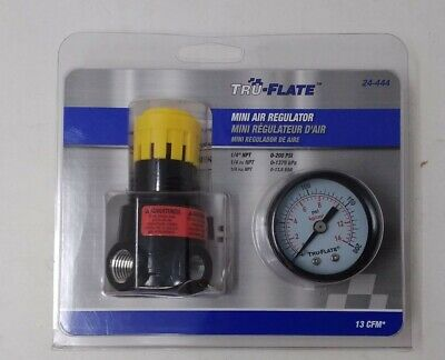 Tru-Flate Mini-Air Regulator 1/4# NPT  NIP