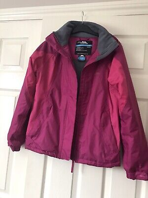 Girls Pink Trepass Jacket Age 11-12 Years