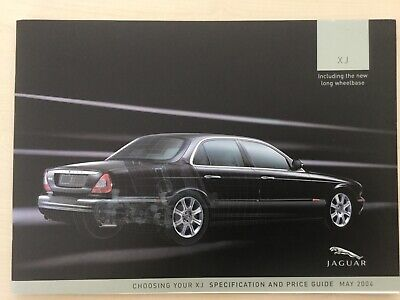 JAGUAR XJ Specs & Price Guide May 2004 Excellent condition