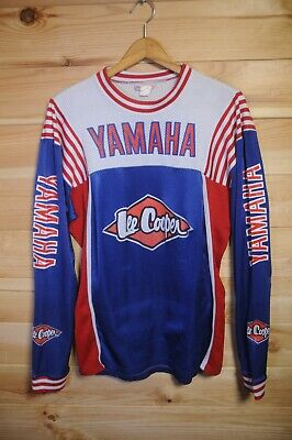 Rare Vintage Official Yamaha Lee Cooper Motocross Top Jersey Medium