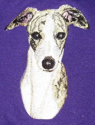 Embroidered Long-Sleeved T-Shirt - Whippet BT3413  Sizes S - XXL