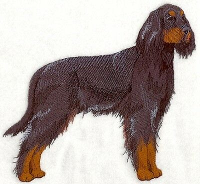 Embroidered Long-Sleeved T-Shirt - Gordon Setter C4801 Sizes S - XXL