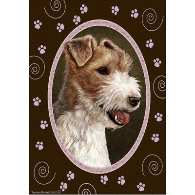Paws House Flag - Wire Fox Terrier 17067