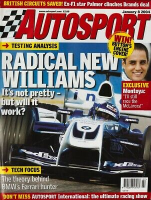 Autosport 8 January 2004, Radical new Williams, Montoya exclusive