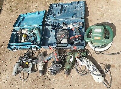Power Tool Joblot Clearance Untested Spares Or Repairs Makita Bosch Drills