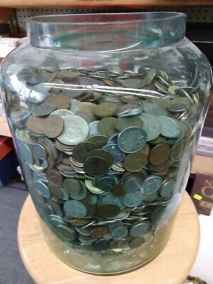 HUGE 12 POUND  Lb BAG WORLD COINS FOREIGN COIN LOT