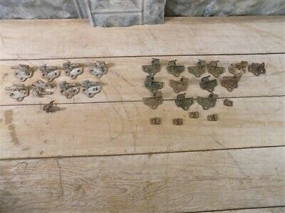 Lot Architectural Salvage Shutter Hinges, Reclaimed Vintage Hardware e,