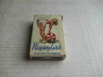 Vintage Pack, Playing Cards, '999' Foreign. Risque, Pin-Ups.