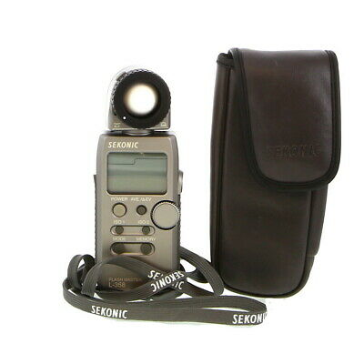 Sekonic L-358 Flash Master Light Meter (Ambient/Flash) With Case - EP