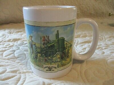 Houston Harvest John Deere Coffee Mug (10 oz) Old Tractors