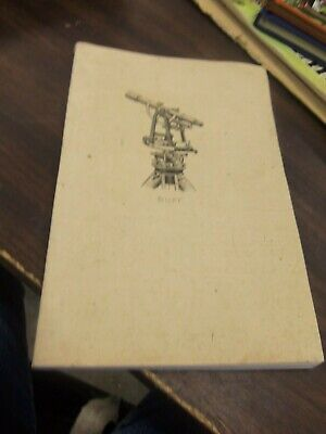 Antique 1918 Buff & Buff Manufacturing Company Surveying Instruments Catalog